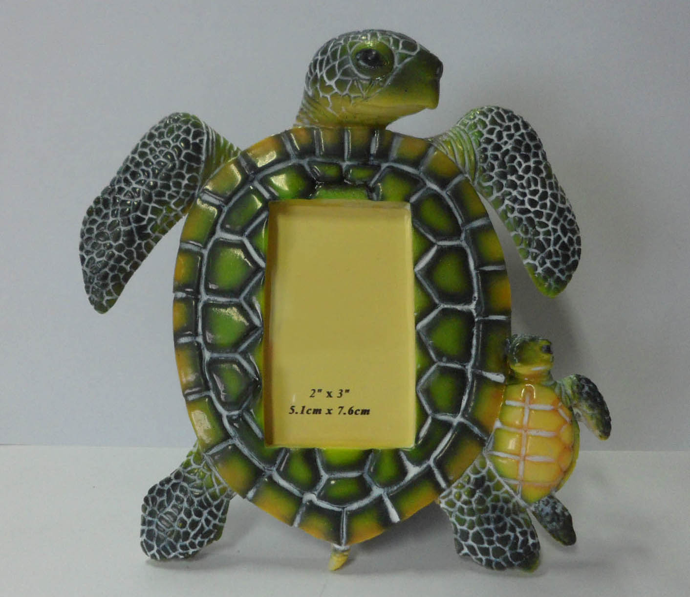 Photo Frame in Sea Turtle Shape