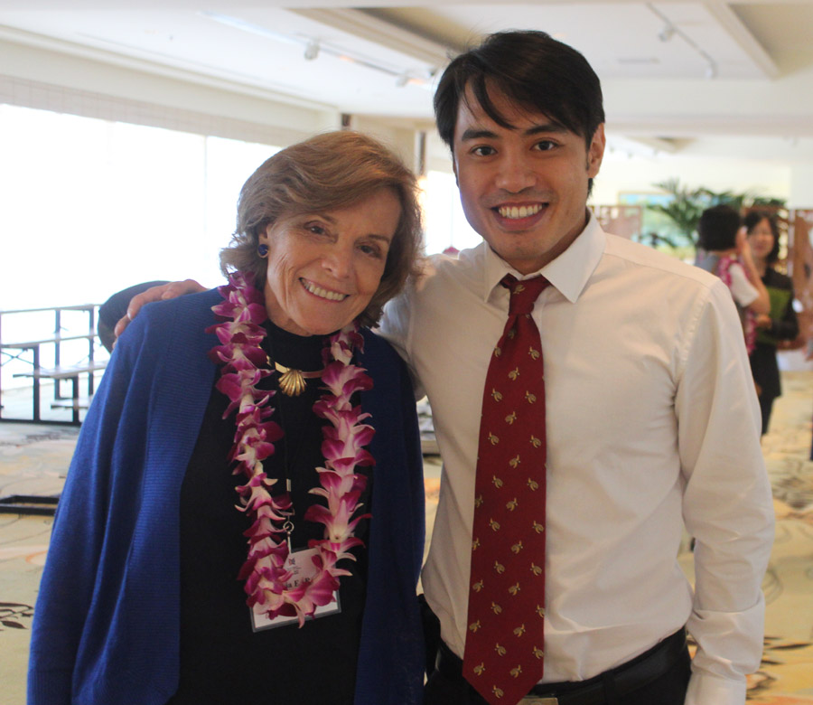 Sylvia Earle and Sea Turtles 911 Founder Frederick Yeh